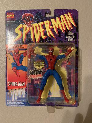 Marvel Spider-Man Animated Series (1995) Spider-man Toy Biz Figure NIP for Sale in Stockton, CA