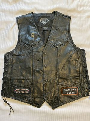 Womens Motorcycle Vest Size Medium for Sale in Miami, FL
