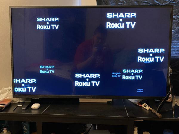 "43"" sharp Roku tv , 10/10 need pickup"