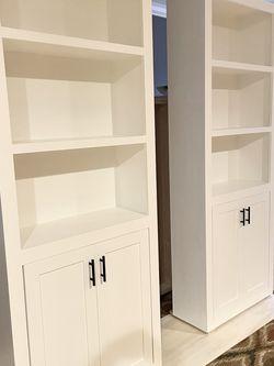 Bookcase with 2 Shaker Doors for Sale in Leesburg,  VA
