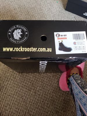 Rock Rooster Mens Work boots Size 7.5 for Sale in District Heights, MD