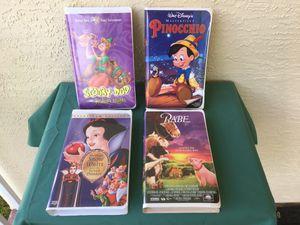 VHS CASSETTE TAPE ENTERTAINMENT FOR KIDS for Sale in Stuart, FL
