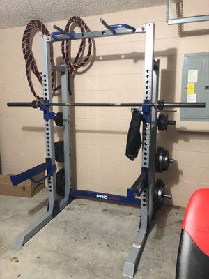 Cross fit equipment, gym equipment, power lifting rack for Sale in Deltona, FL