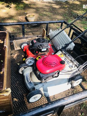 Used mowers- paint sprayer-deep freezer- for Sale in Durham, NC
