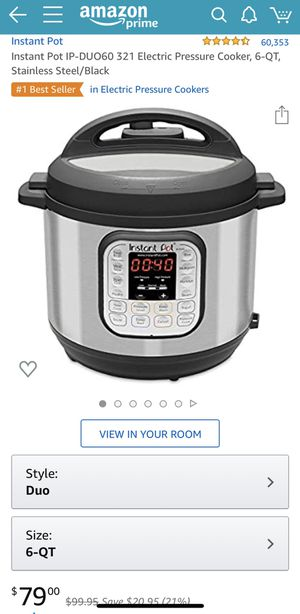 6-QT Instant Pot Duo 7-1 BRAND NEW for Sale in Alhambra, CA