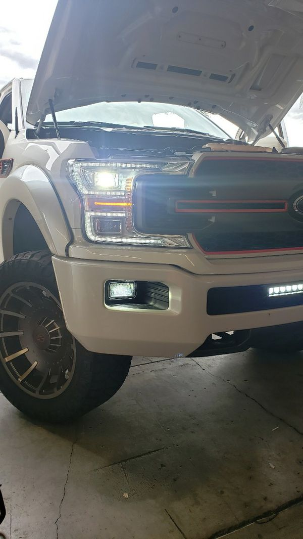 CSP Car LED lights kit MODEL 9007 H13 with 1 year WARRANTY. Easy plug and play Car CSP LED headlights set