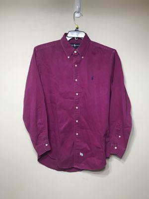 Ralph Lauren Purple Pink Shirt for Sale in Alexandria, VA