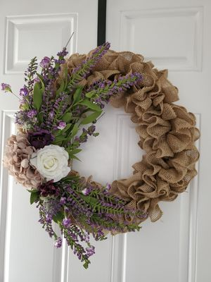 Lavender Wreath for Sale in Crofton, MD