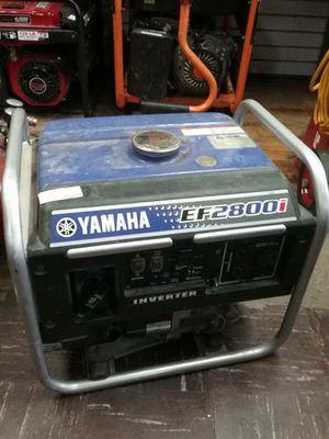 Yamaha EF2800I inverter generator for Sale in Baltimore, MD