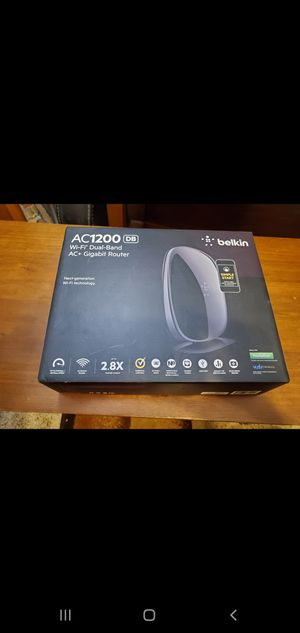 Belkin AC1200 DB Router for Sale in Portland, OR