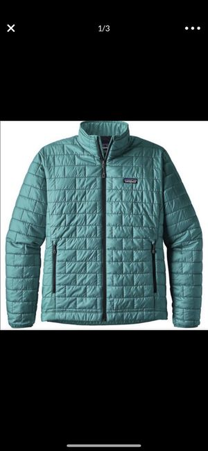 Patagonia teal jacket for Sale in Eldersburg, MD