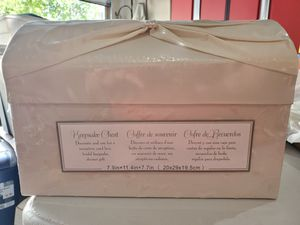 Keepsake Chest - Wedding Day Card Box for Sale in INVER GROVE, MN