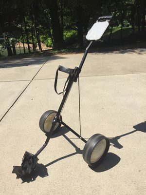 Folding 3 Wheel Push Pull Golf Cart for Sale in Mooresville, NC