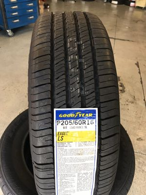 205/60/16 New set of Goodyear tires installed for Sale in Ontario, CA