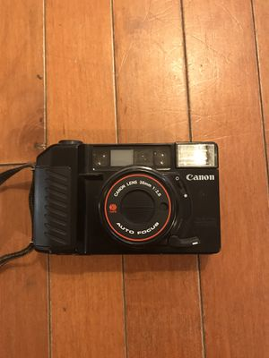Canon sure shot w 36 mm lense for Sale in Phoenix, AZ