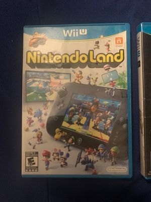 Nintendo land Wii U game for Sale in Spring Valley, CA