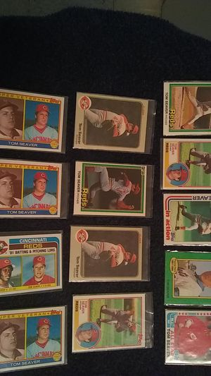 TOM SEAVER BASEBALL CARDS for Sale in Cleveland, OH