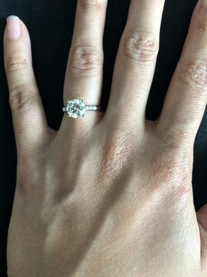 1.24 ct Diamond Engagement ring for Sale in Tampa, FL