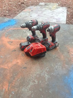 Milwaukee hammer drill and impact set 18 volt for Sale in Gulfport, FL