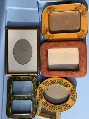 6 Beautiful Vintage Picture Frames! Collectible Decor for Sale in Santa Clarita, CA