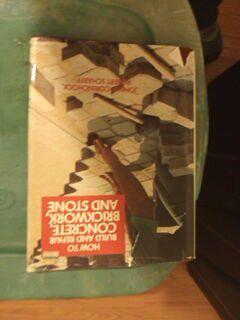 Concrete brickwork book for Sale in Fontana, CA