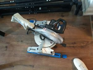 """10"""" sliding miter compound saw like new for Sale in Columbus, OH"""