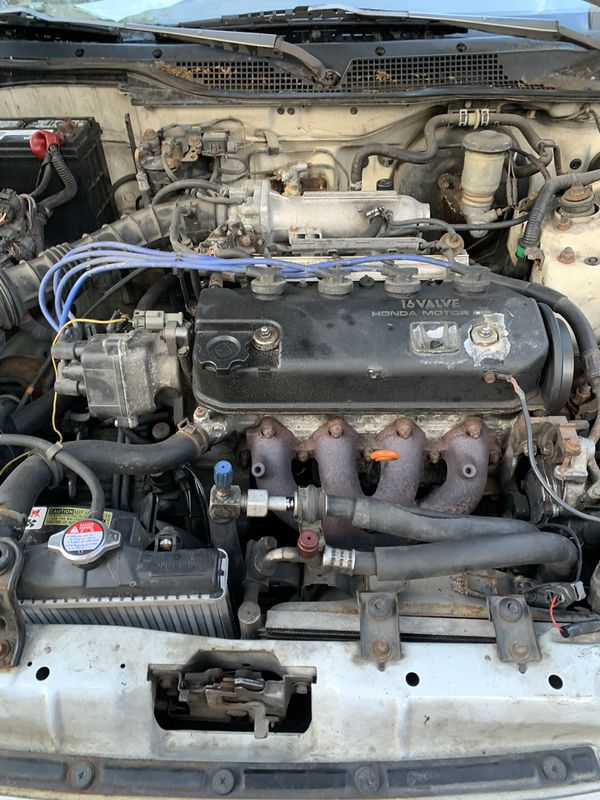 1992 classic Honda Civic DX B21 motor and trams shift perfect