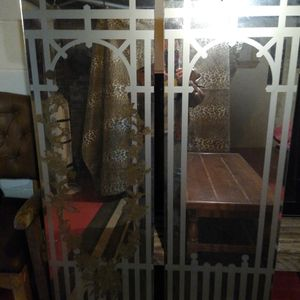 4 etched gold mirrors for Sale in Washington, PA