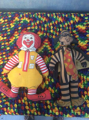 Vintage McDonald's dolls 70s for Sale in Long Beach, CA