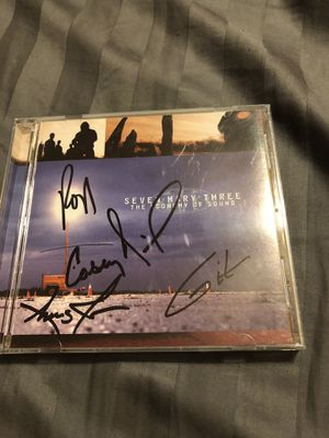 Autographed Seven Mary Three CD for Sale in West Palm Beach, FL
