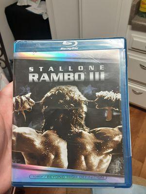 Stallone Rambo 3 Blu-ray movie for Sale in Santa Ana, CA
