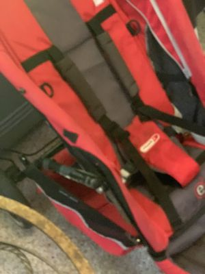 Phil & and Teds e3 red stroller for infants and babies. With strap and buckles and 3 wheels. Red. Bottom Pocket. for Sale in Alameda, CA
