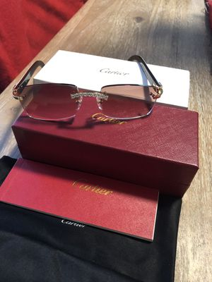 7852936555 Cartier glasses (All White Buffs) for Sale in Akron
