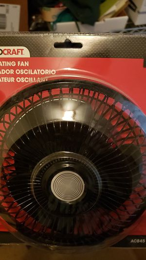 12v fan- plugs into cigarette/power in car for Sale in Tampa, FL