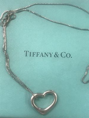 Tiffany & Co Elsa Peretti Heart Necklace for Sale in New York, NY