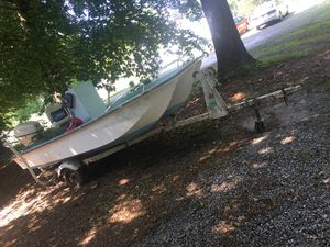 BOAT W TRAILER FOR 3000 or BEST OFFER NEED GONE ASAP for Sale in Ashland, VA
