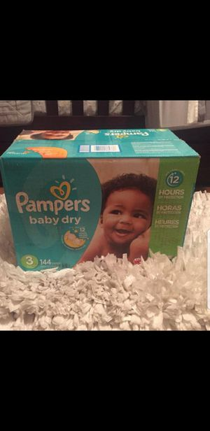 Pampers - size 3 - 144 count 4 boxes for Sale in Edgewood, WA