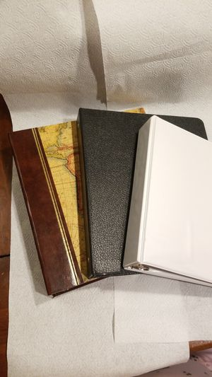 3 ring binder, notebooks for Sale in Silver Spring, PA