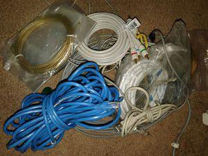 Computer modem & tv adaptors for Sale in Hemet, CA