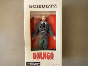 Django Unchained Collectable Shultz Action Figure RARE for Sale in West Hollywood, CA