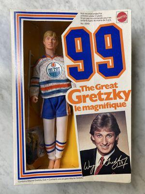 "VINTAGE 1983 MATTEL NHL GREAT WAYNE GRETZKY OILERS 99 12"" DOLL ACTION FIGURE for Sale in Renton, WA"