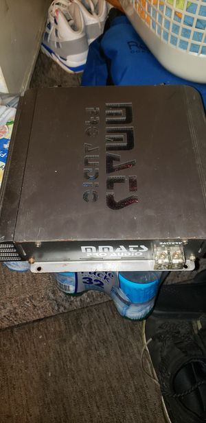 mmats pro audio amp for Sale in Youngstown, OH
