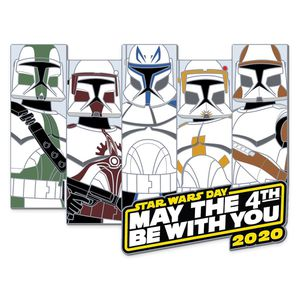 limited edition star wars may the 4th be with you 2020 clone troopers pin for Sale in El Monte, CA
