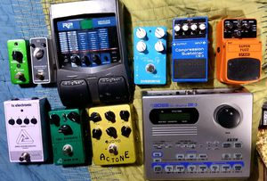 Misc. Guitar effect Pedals and such. for Sale in Bonney Lake, WA