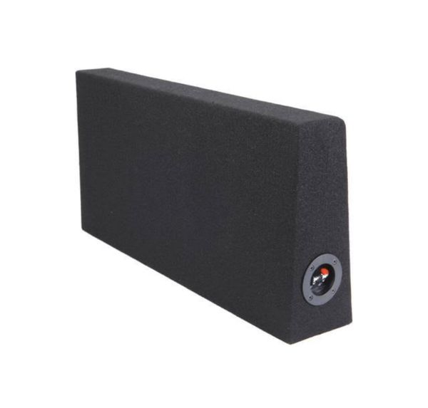 """10"""" Wedge Shallow Subwoofer Enclosure for Behind-Seat Use (New)"""
