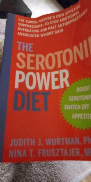 Serotonin power diet paperback for Sale in Gretna, VA