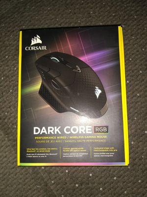 Corsair dark core wireless gaming mouse for Sale in Surprise, AZ