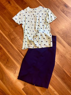 Circus UK Blouse & 7th Avenue Pencil Skirt for Sale in San Diego, CA