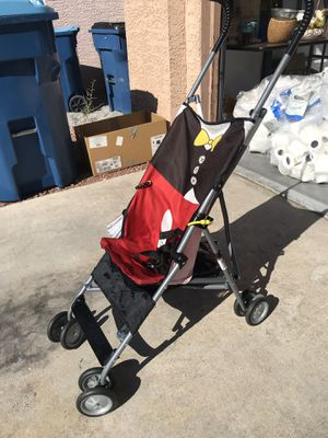 Foldable baby stroller with cool book attached for Sale in Las Vegas, NV