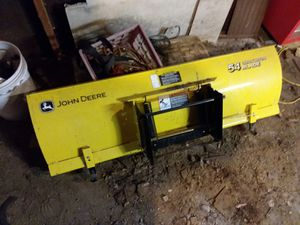 John deere 54 inch snow blade for Sale in New Milford, PA